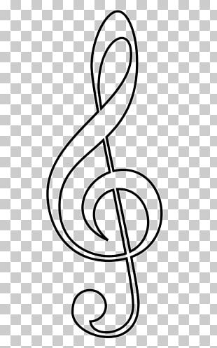 Clef Treble Musical Note Sheet Music PNG