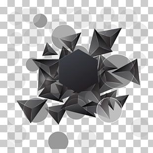 Triangle Geometry Abstraction PNG
