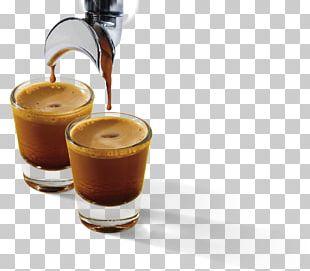 Espresso Iced Coffee Flat White Latte Macchiato PNG