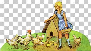 Cartoon Carnivora Legendary Creature Chicken As Food PNG