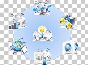 Enterprise Resource Planning Business Management System PNG