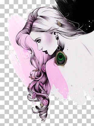 Illustrator Fashion Illustration Drawing Illustration PNG