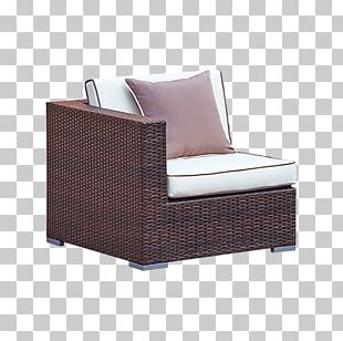 Club Chair Couch NYSE:GLW Wicker Rattan PNG