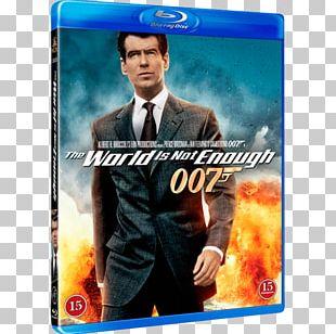 Pierce Brosnan The World Is Not Enough James Bond Film Series Blu-ray Disc PNG