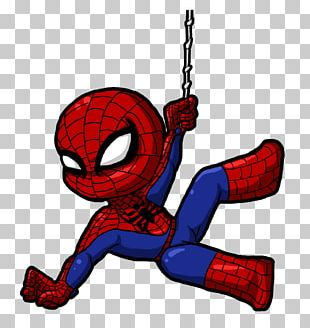 Spider-Man In Television Cartoon Drawing PNG