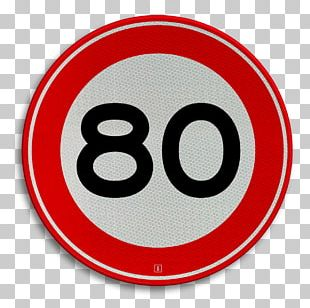 Traffic Sign Speed Limit Car Kilometer Per Hour Velocity PNG