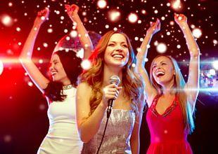 Microphone Karaoke Bachelorette Party Singing PNG