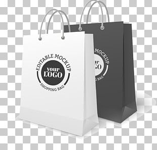 Paper Bag Shopping Bag Mockup PNG