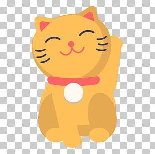 Cat Kitten Maneki-neko PNG