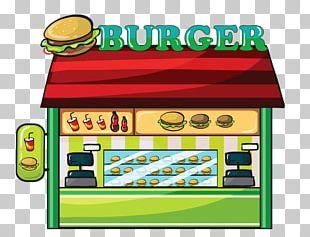 Fast Food Restaurant Hamburger PNG