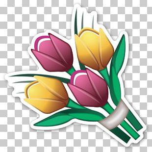IPhone Emoji Emoticon Sticker Flower PNG