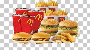 Cheeseburger KFC McDonald's Big Mac Fast Food French Fries PNG