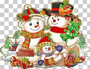 Christmas Ornament Snowman Christmas Day Santa Claus New Year PNG