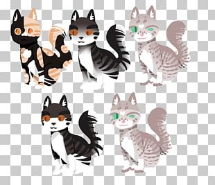 Kitten Whiskers Cat Illustration Paw PNG