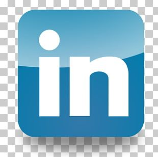 LinkedIn Logo Social Media Business Professional Network Service PNG