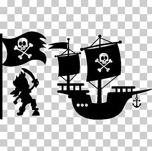 Captain Hook Piracy Logo PNG