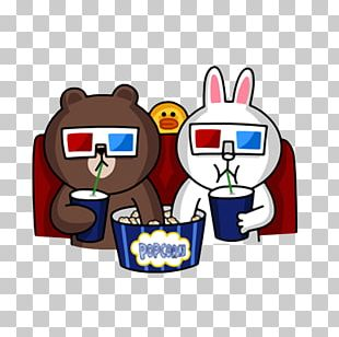 Brown Bear Line Friends Sticker LINE BROWN FARM PNG