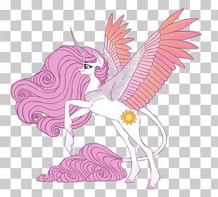 Illustration Cartoon Fairy Design Pink M PNG
