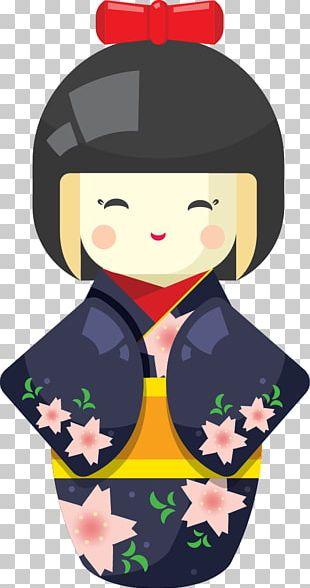 Japanese Dolls Geisha PNG