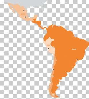 Latin America South America United States Map PNG