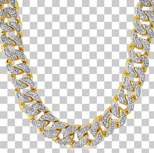 Chain Necklace Cubic Zirconia Pendant Diamond PNG