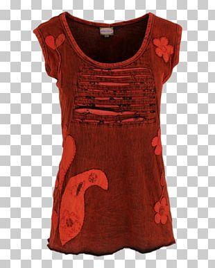 T-shirt Sleeve Velvet Dress PNG