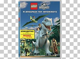 Lego Jurassic World Amazon.com Indominus Rex DVD PNG