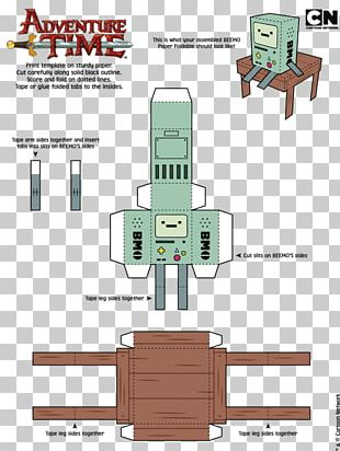 Paper Toys Finn The Human Jake The Dog Paper Model PNG