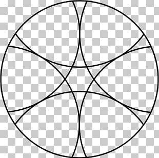 Sacred Geometry Circle Petal Sphere PNG