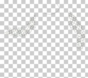 Feather White Line Art Organ Font PNG