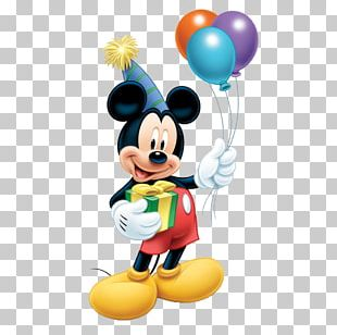 Mickey Mouse Minnie Mouse Balloon Standee Birthday PNG