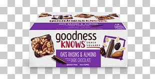 Chocolate Bar Snack Almond Cranberry PNG
