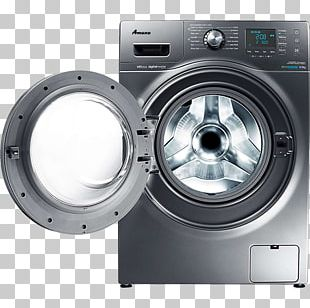 Washing Machines Samsung Seine WF106U4SA Clothing Dry Cleaning Clothes Dryer PNG
