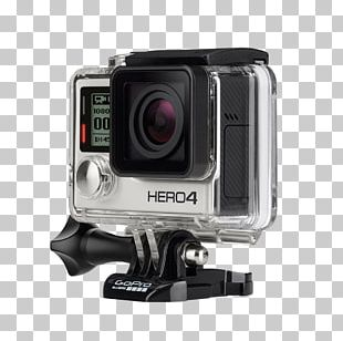 GoPro Action Camera 4K Resolution Video Cameras PNG
