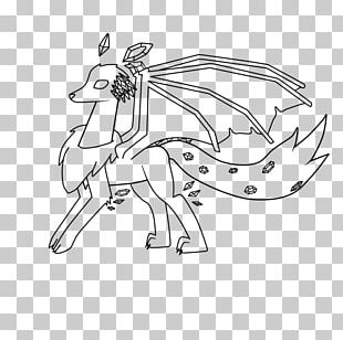 Pack Animal /m/02csf Horse Line Art Drawing PNG