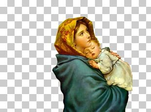 Immaculate Conception Mother Child Theotokos Catholic PNG