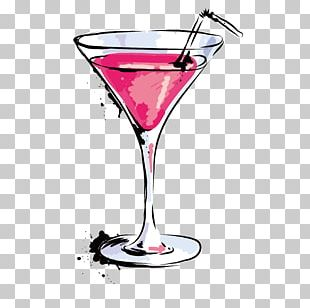 Wine Cocktail Martini Red Russian Juice PNG