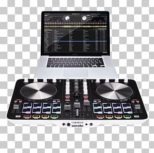 DJ Controller Reloop Beatmix 4 Disc Jockey Audio Mixers DJ Mix PNG