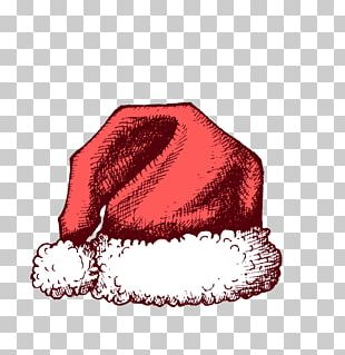 Santa Claus Christmas Hat PNG