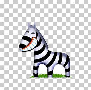 Zebra ICO Okapi Icon PNG