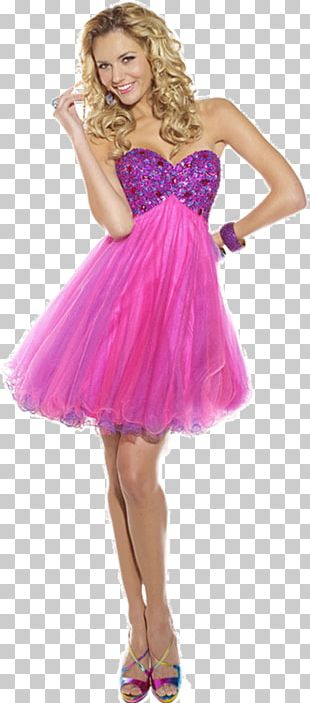 Cocktail Dress Fashion Gown Prom PNG