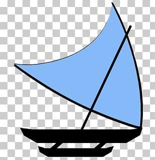 Sail Plan Proa Crab Claw Sail Lateen PNG