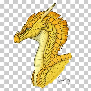 Seahorse Dragon Wings Of Fire Drawing The Brightest Night PNG