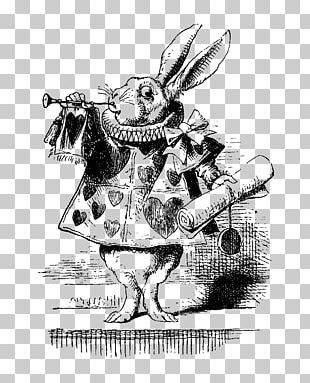 Alice's Adventures In Wonderland White Rabbit The Mad Hatter The Tenniel Illustrations For Carroll's Alice In Wonderland PNG