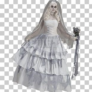 Halloween Costume Bride Haunted House Clothing PNG