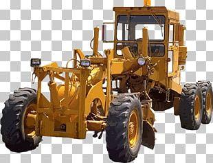 Tractor Grader Heavy Equipment Pixabay PNG