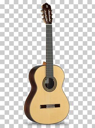 Alhambra Classical Guitar Flamenco Guitar Acoustic Guitar PNG