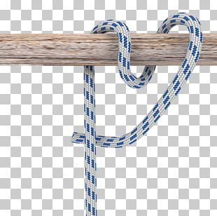 Rope Knot Round Turn And Two Half-hitches Necktie PNG