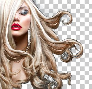Blond Hair Care Artificial Hair Integrations Beauty Parlour PNG