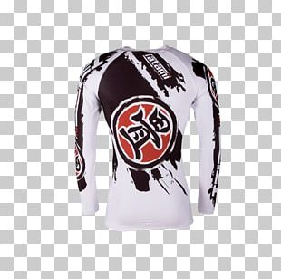 Long-sleeved T-shirt Rash Guard Mixed Martial Arts Ultimate Fighting Championship PNG